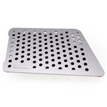 Rennline - Porsche 996/986/997/987 Aluminum Perforated Floor Board (Passenger Side)