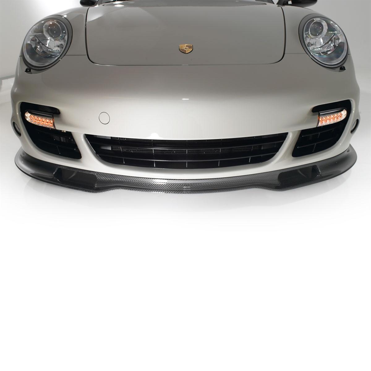 Werks1 Porsche 997 1 997 2 Turbo Carbon Fiber Front Splitter