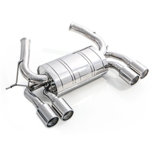 Tubi Style - BMW F82 M4 Rear Muffler (Non-Valved)