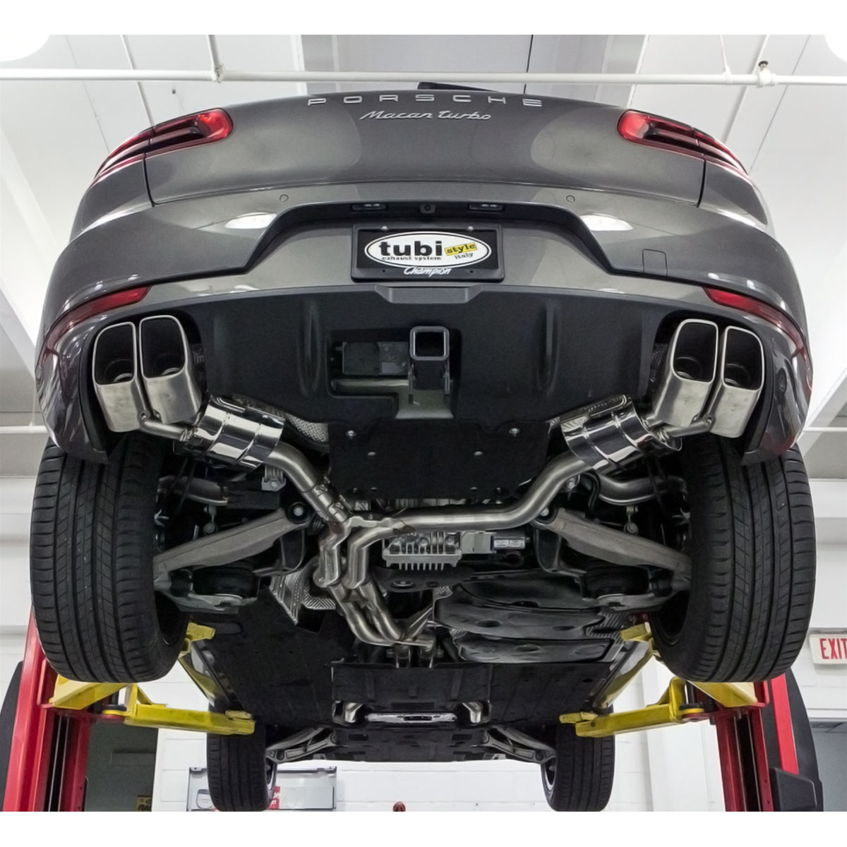 Tubi Style Porsche Macan Turbo Exhaust System